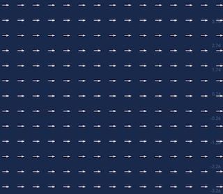 Vector field V(1, 0)