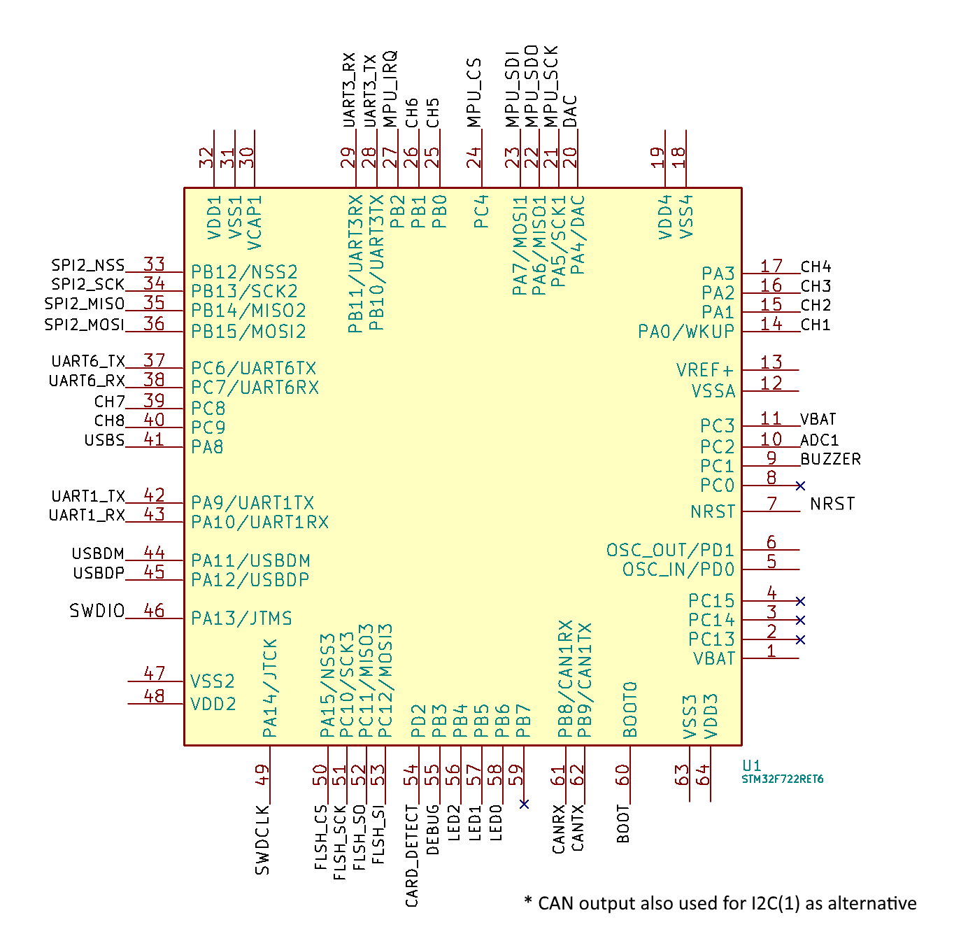 nero rev1 mcu schematic board nero � betaflight betaflight wiki � github betaflight f3 wiring diagram at gsmportal.co