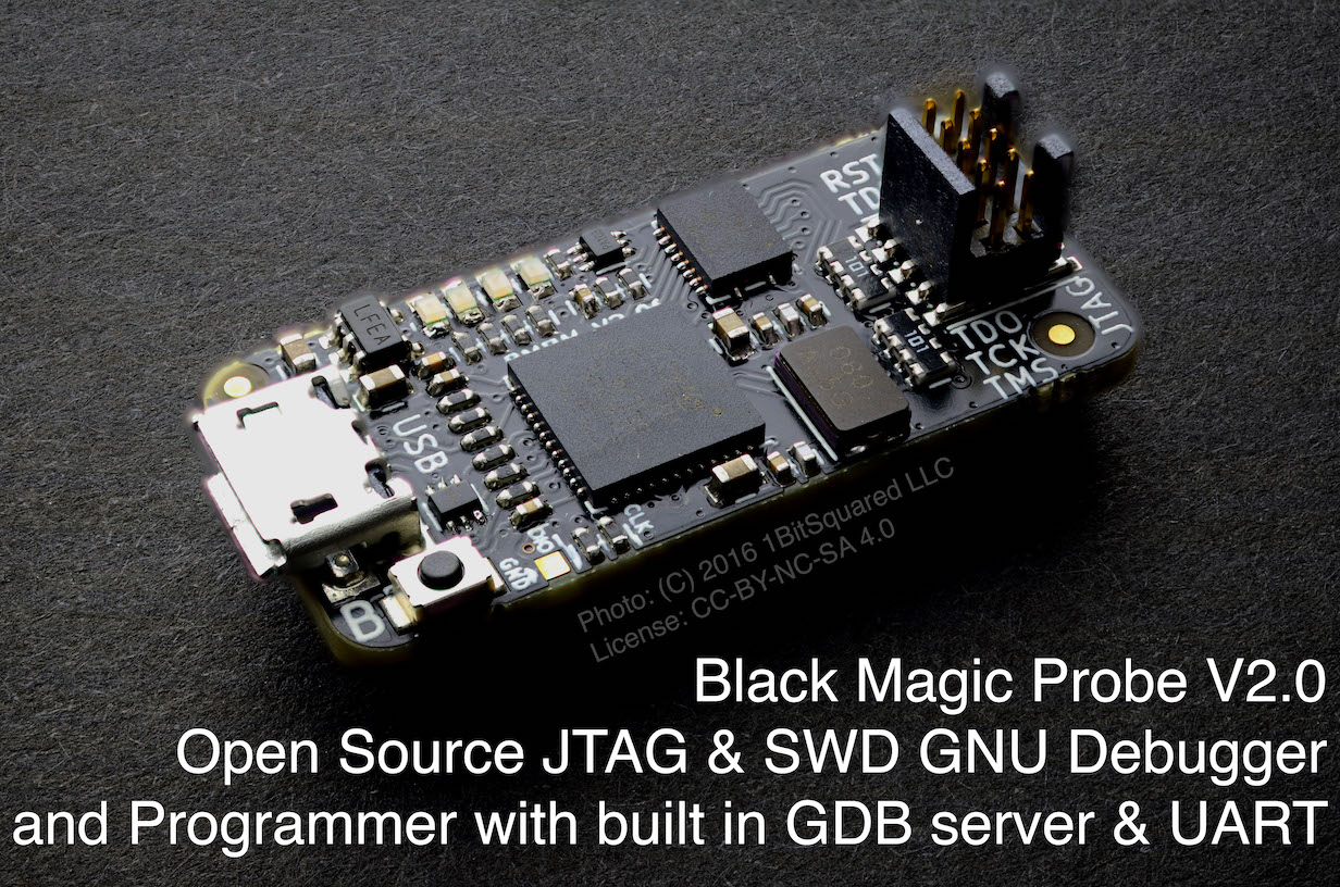 Home Blacksphere Blackmagic Wiki Github House Wiring For Beginners Diywiki And Junction Box The Black Magic Probe Is A Modern In Application Debugging Tool Embedded Microprocessors It Allows You See What Going On Inside An