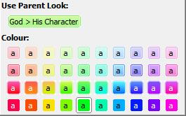 Coloured Tag Picker