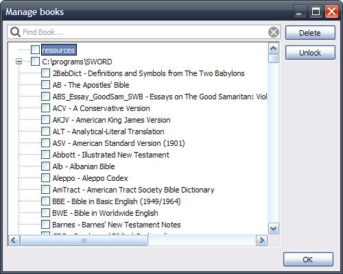 Manage Books