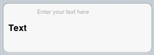 Text Row