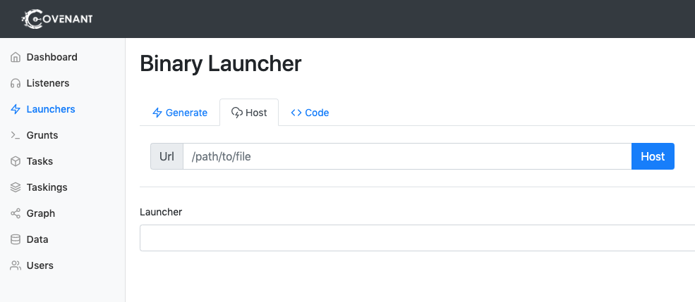 Host Launcher