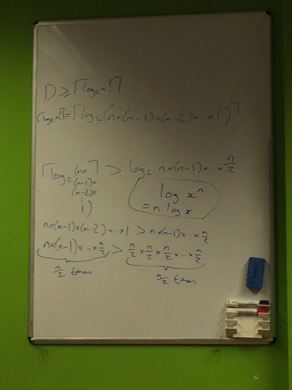 Expanding the algebra given in the book