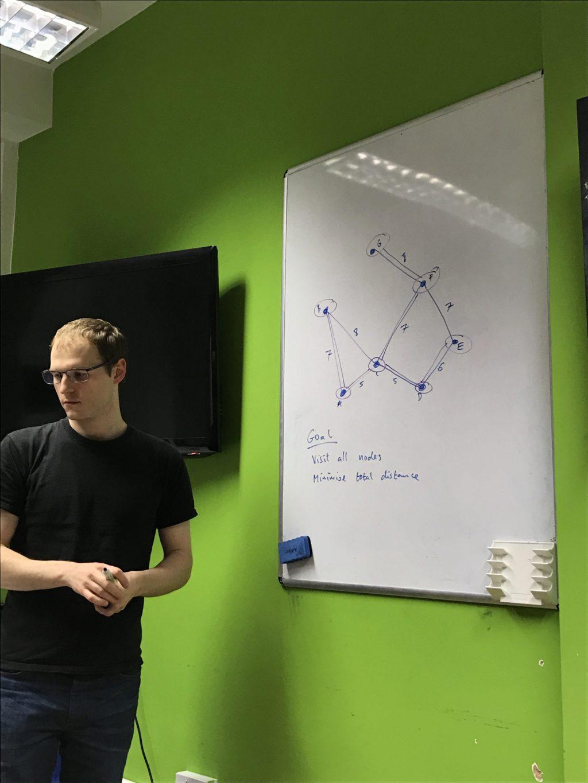Chris Patuzzo shows us a minimum spanning tree (alternate angle)
