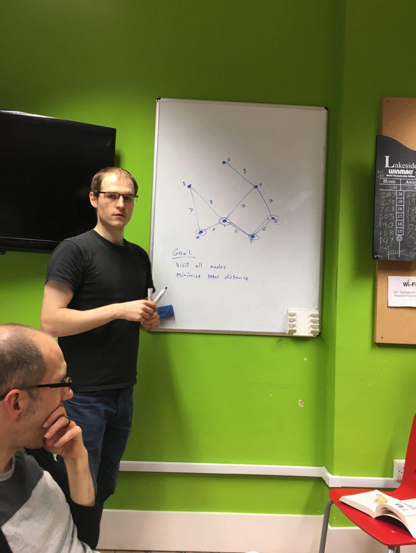 Chris Patuzzo shows us a minimum spanning tree