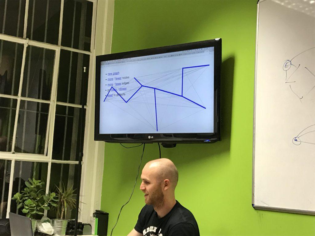 Dmitry Kandalov shows off Chris Patuzzo's Javascript implementation of the algorithm