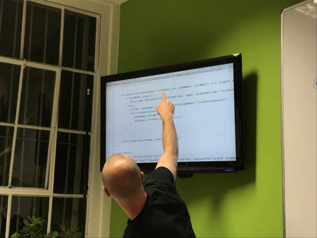 Dmitry Kandalov shows off his own Kotlin implementation of the algorithm