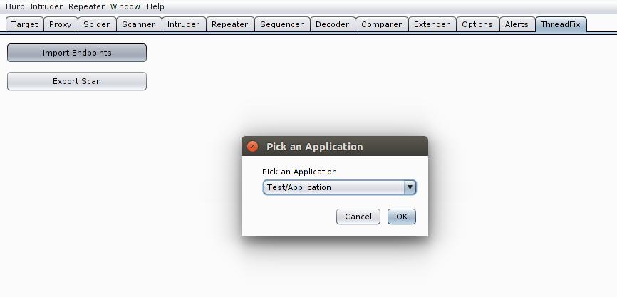 BURP Plugin - ThreadFix Documentation - ThreadFix