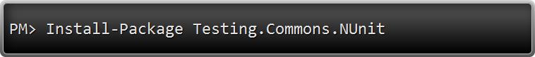 Testing.Commons.NUnit