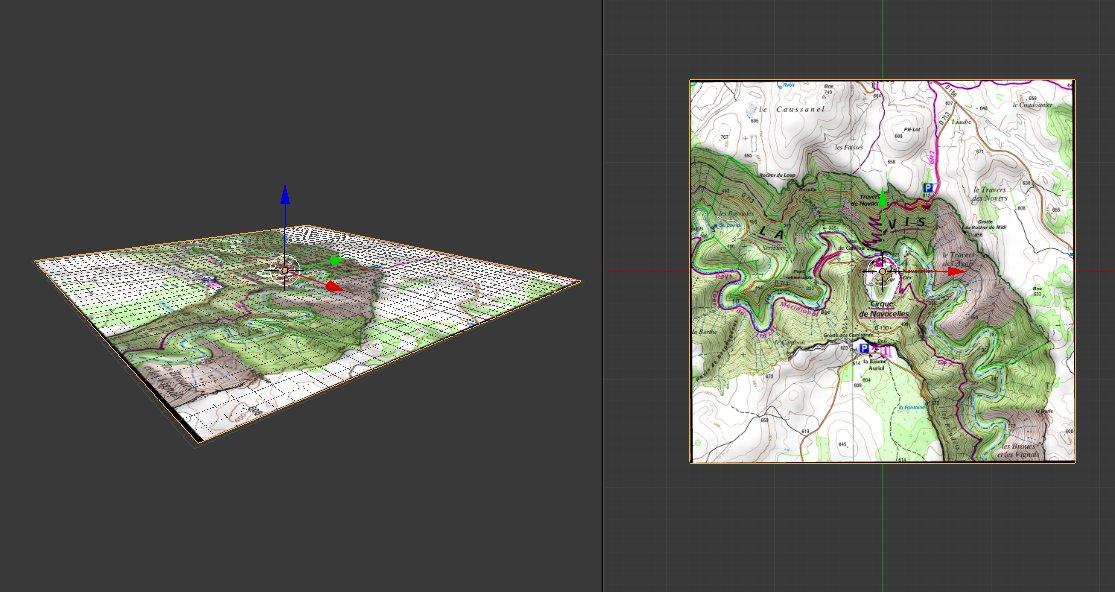 Import georef raster · domlysz/BlenderGIS Wiki · GitHub