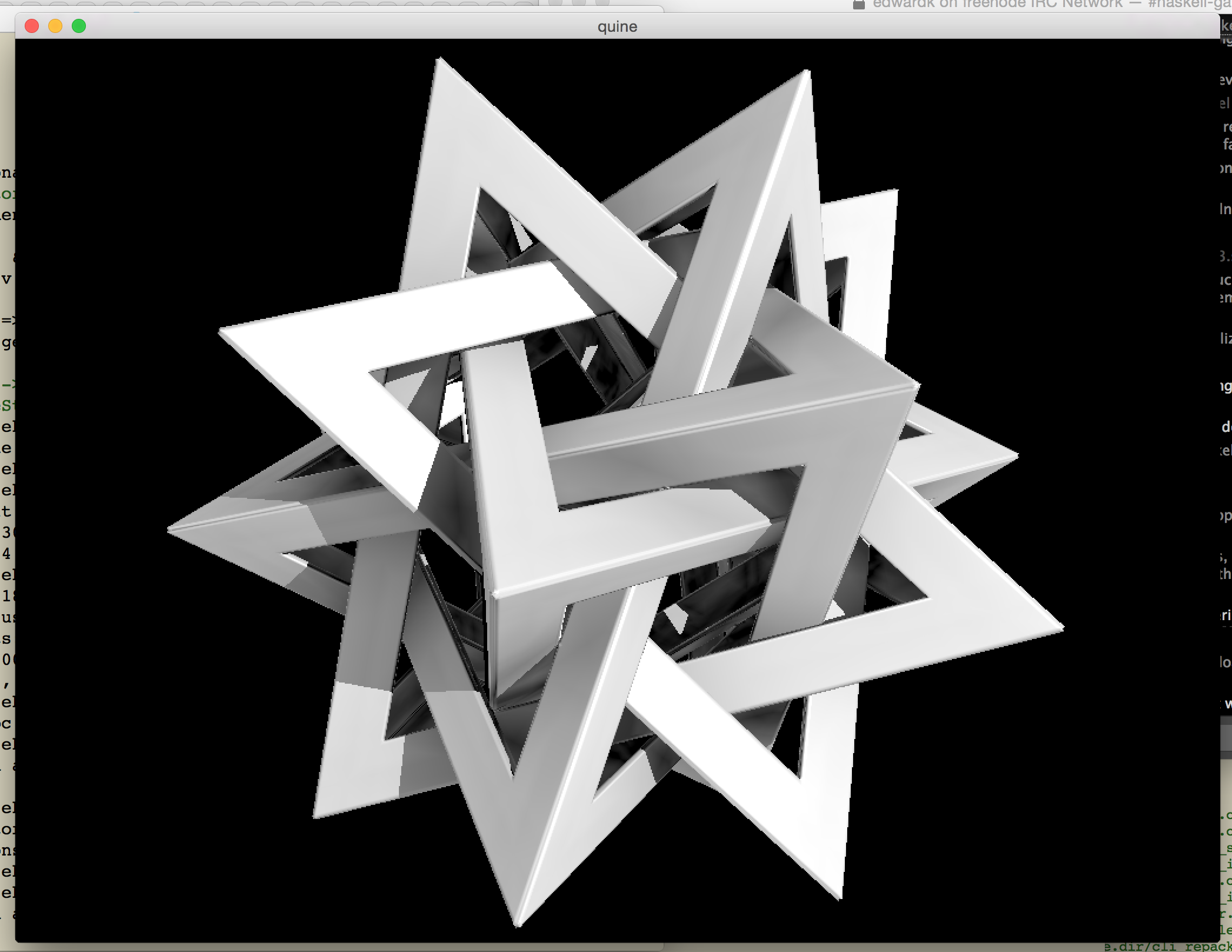 screenshot of a dodecahedron