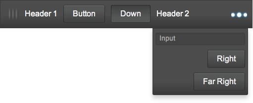 onyx.MoreToolbar with menu visible