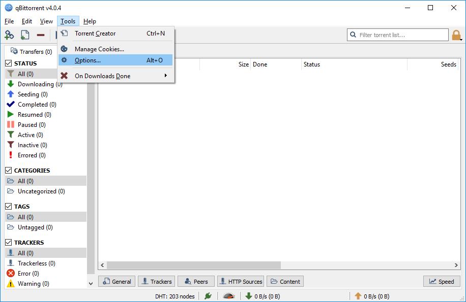 Qbittorrent Linux Command Line