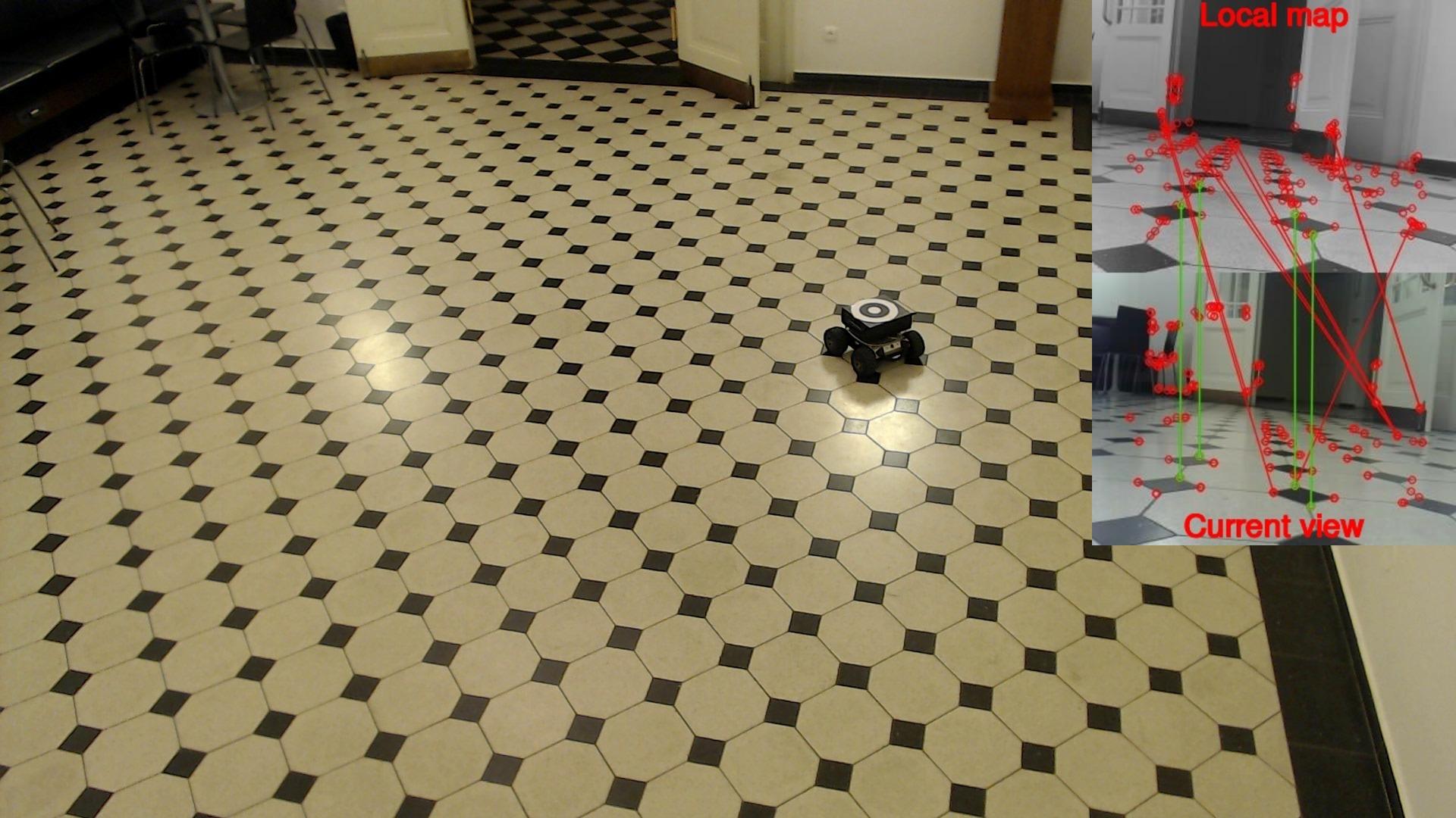 First indoor experiment