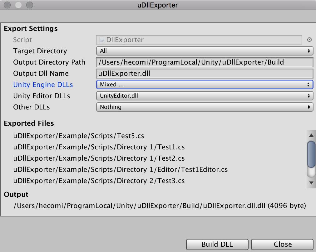 GitHub - hecomi/uDllExporter: Tool to build DLLs in Unity