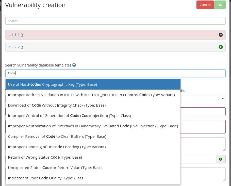 Vulnerability Templates (KB) · infobyte/faraday Wiki · GitHub