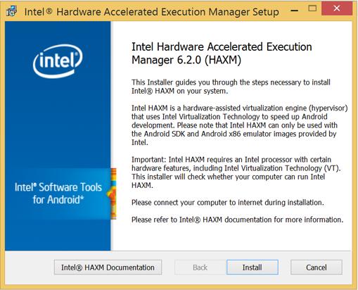 Installation Instructions on Windows · intel/haxm Wiki · GitHub