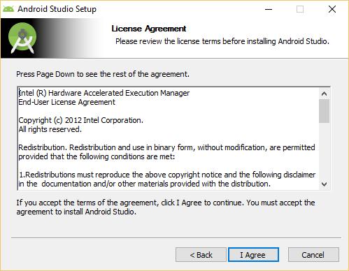 intel x86 emulator accelerator (haxm installer) for windows 7