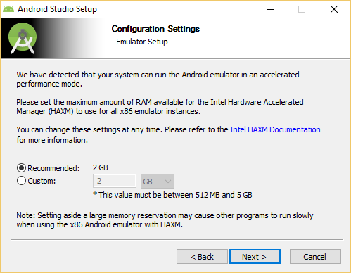 error x86 emulation currently requires hardware acceleration visual studio
