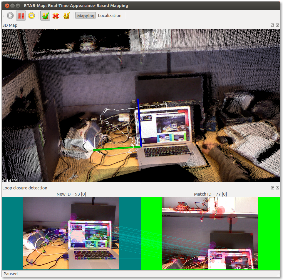 RGB-D Kinect mapping