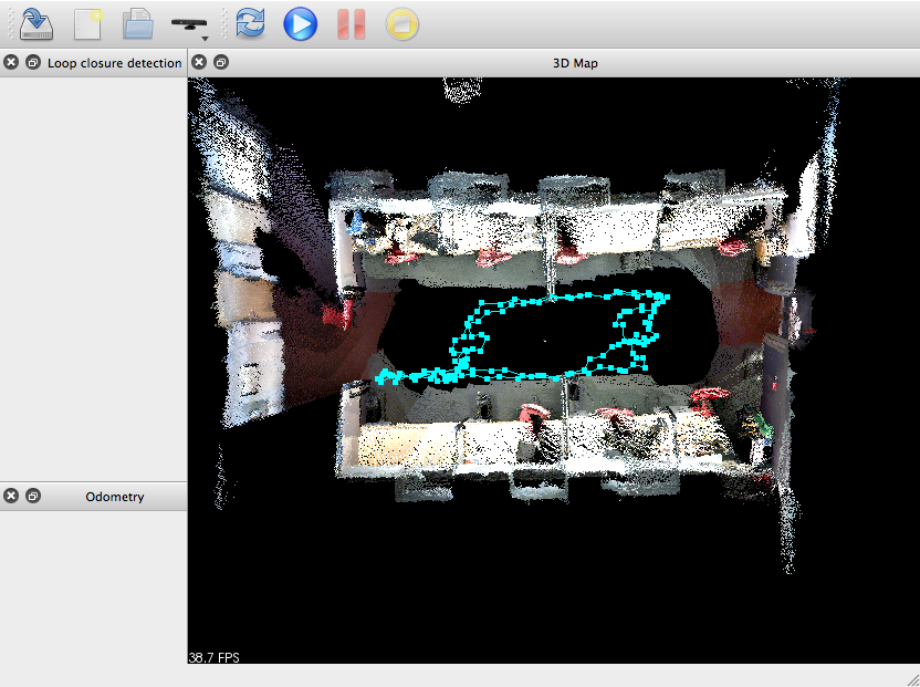 Point cloud without SBA