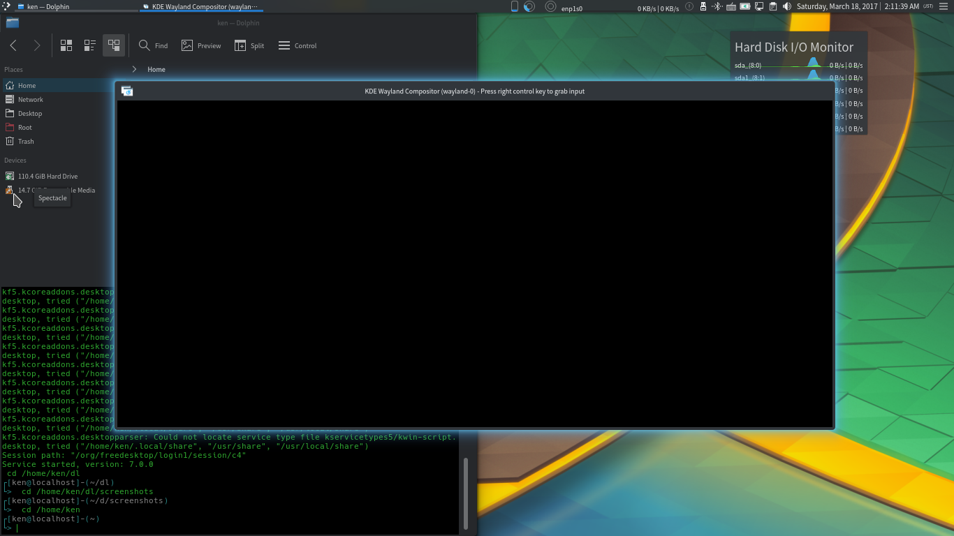 How to set up nested Wayland Desktop Environment with systemd-nspawn