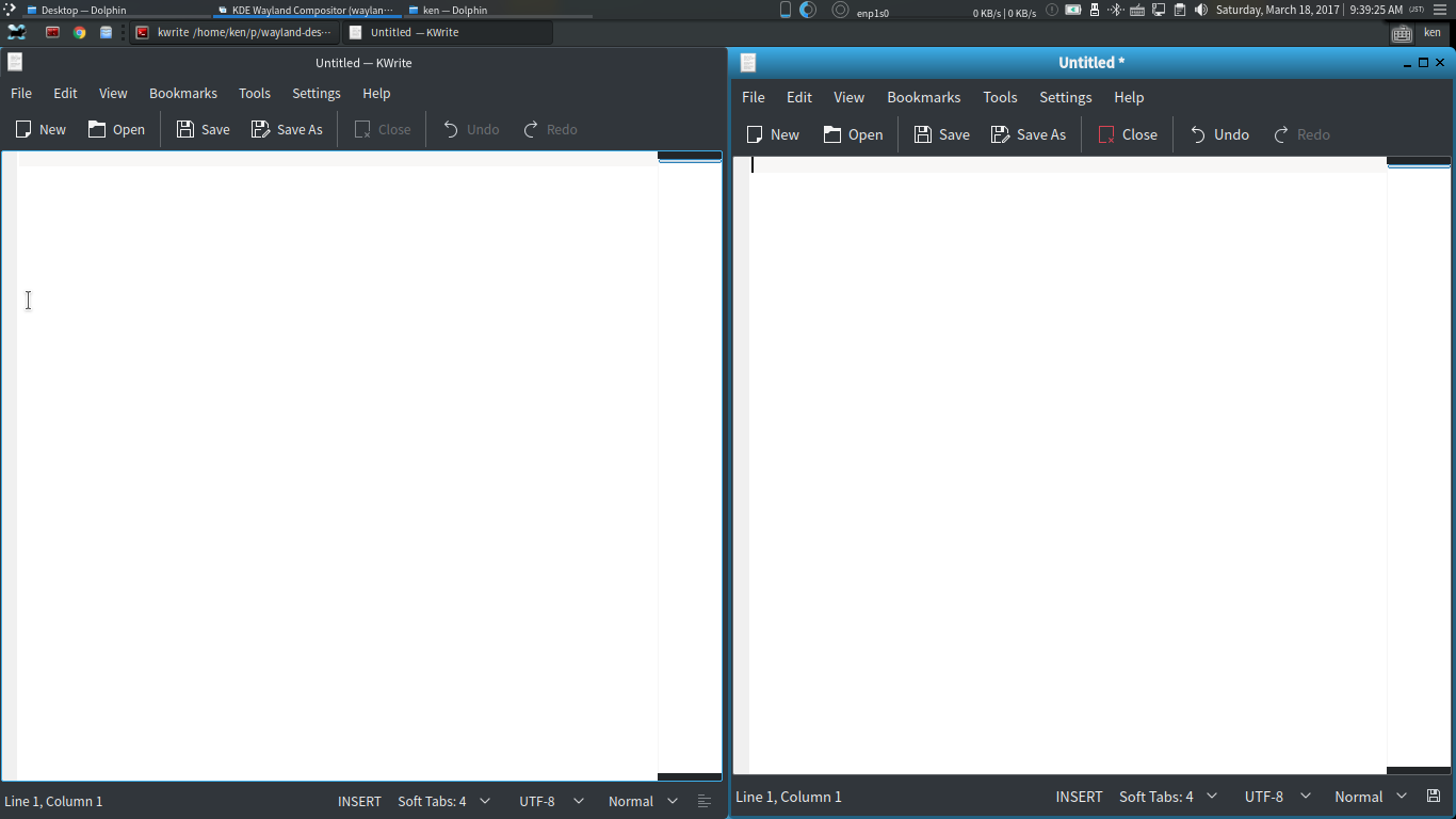 How to set up nested Wayland Desktop Environment with