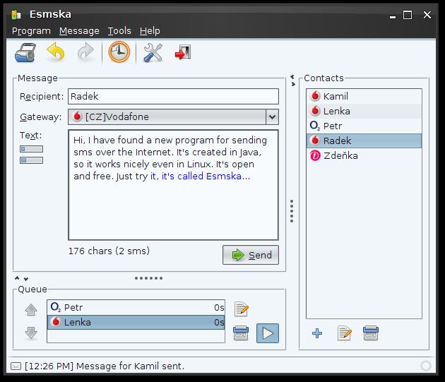 Full Esmska screenshot