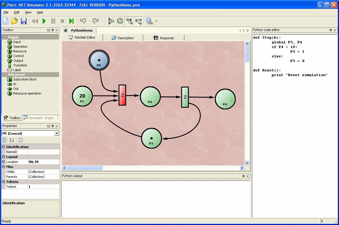 14 Using Python · larics/Petri Net Wiki · GitHub