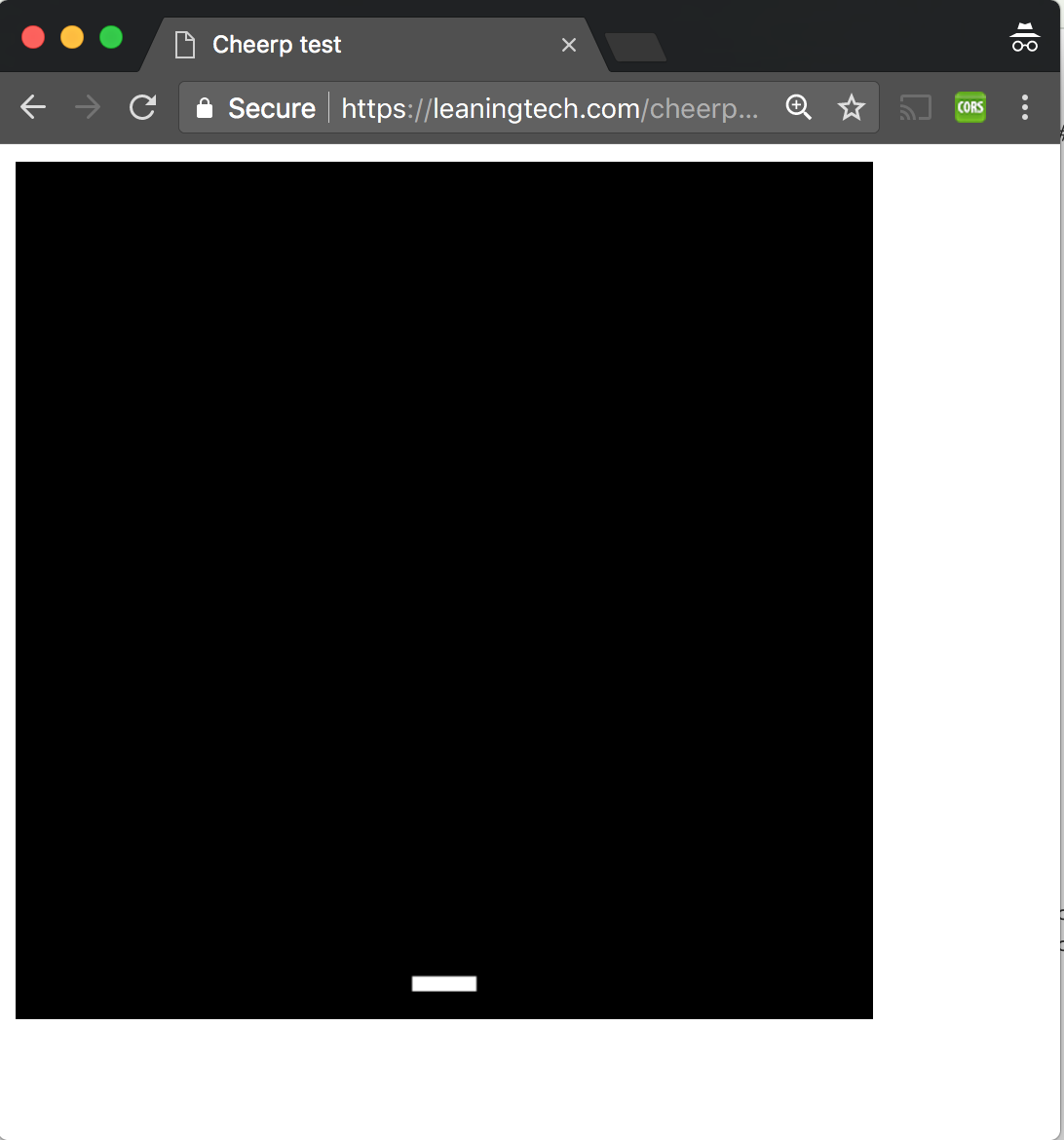 Cheerp Tutorial: Mixed mode C++ to WebAssembly and