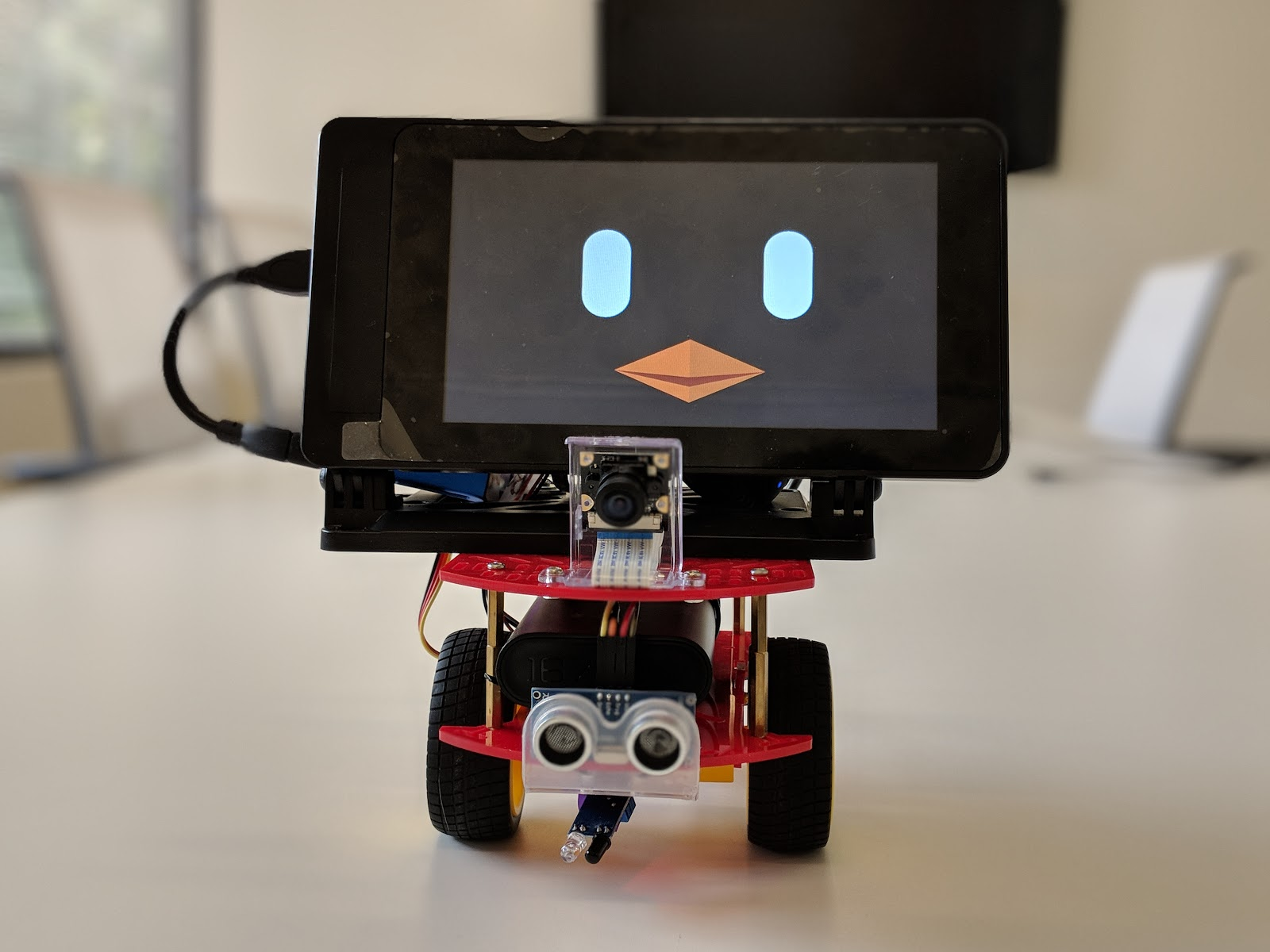 Beanbird Bot: Building a web app enabled robot with ROS2 and