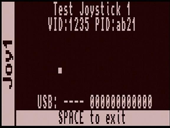 Joystick mapping