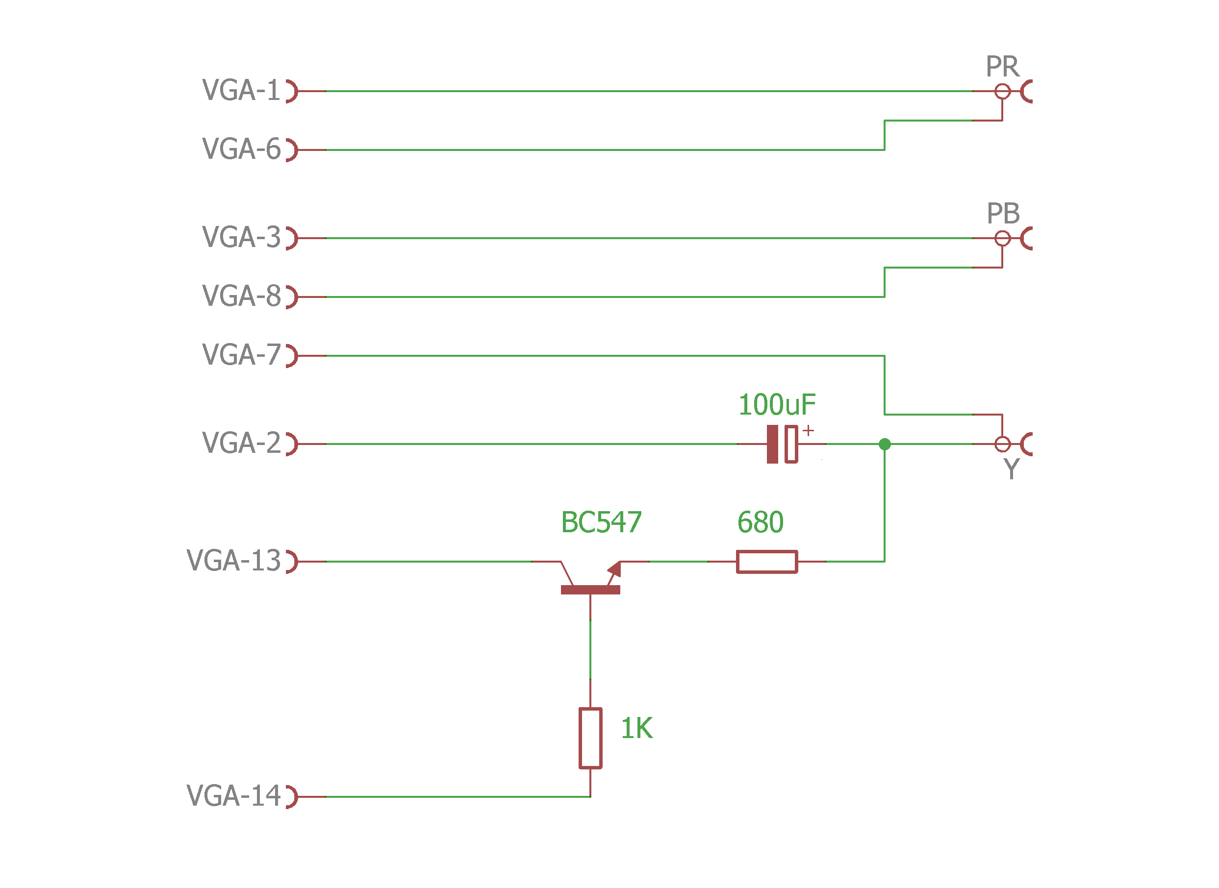 New Feature Ypbpr Rgsb Output Atari Forum S Video Adapter To Vga Schematic I Would Imagine This Only Works For The Mist It Is Not A General Component Converter Could Be Good Idea Mount Little Pcb That Can