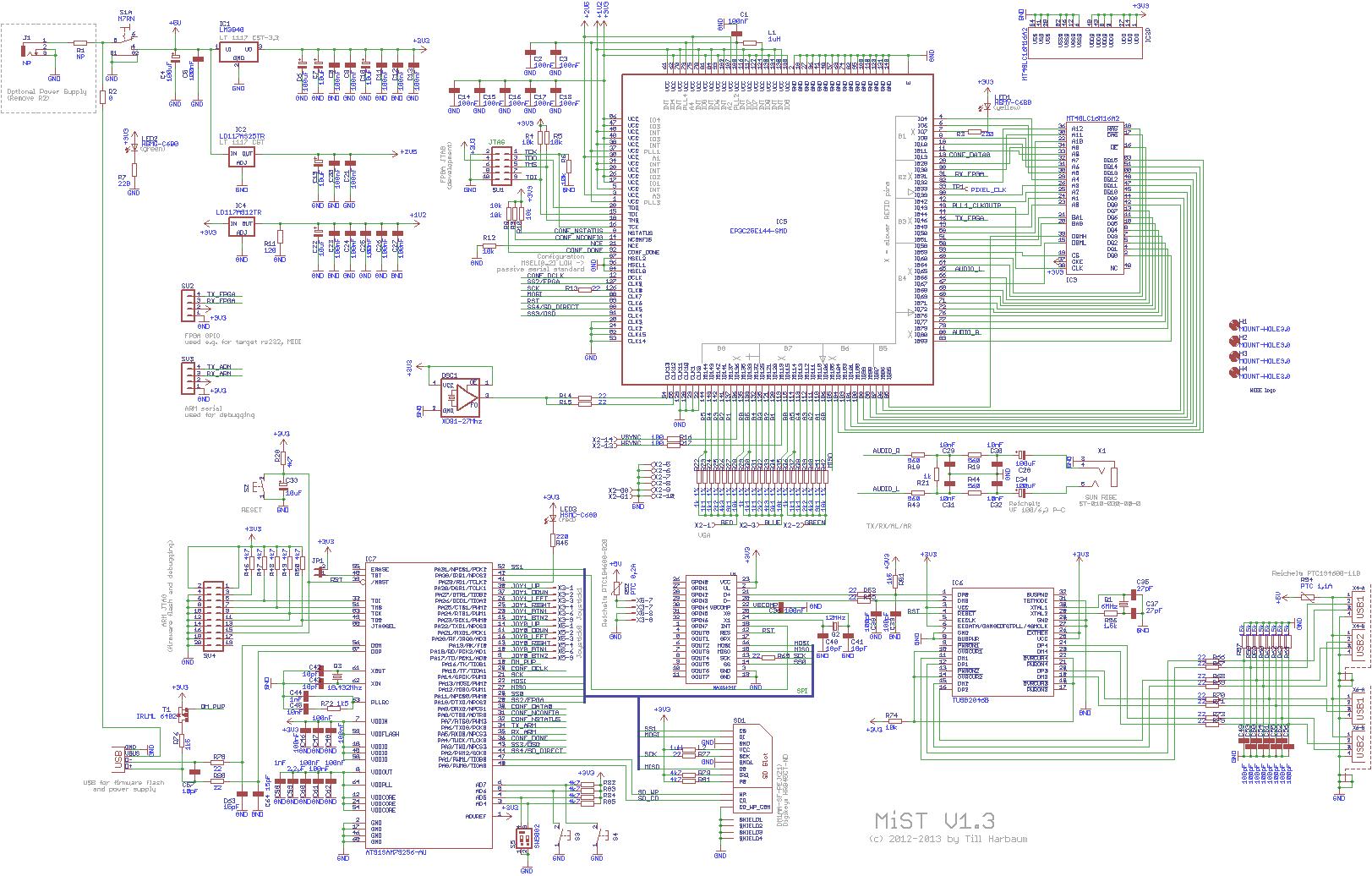 board13 · mist-devel/mist-board wiki · github, Schematic