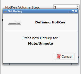 Setting a new HotKey