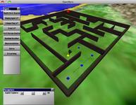 OpenNERO Maze Environement