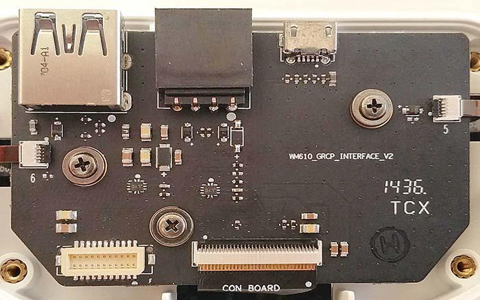 GL300 Connectors HDMI board v2 top
