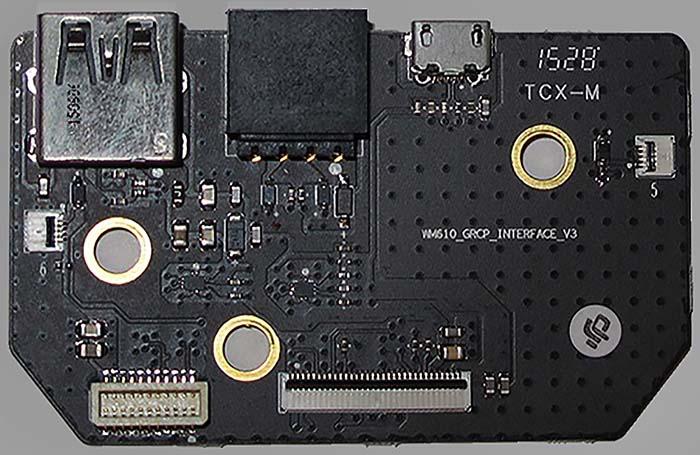 GL300 Connectors HDMI board v3 top