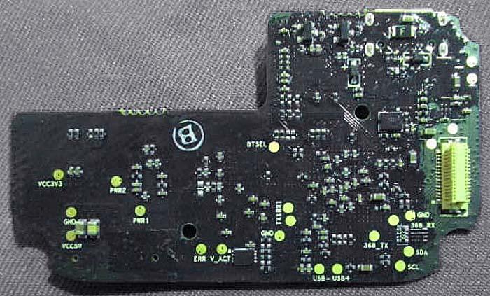 GL300 Connectors HDMI core board v1 bottom