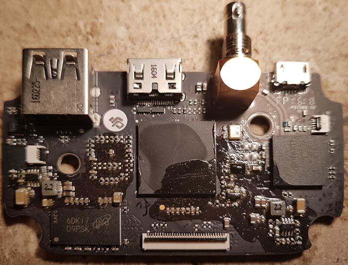 GL300 Connectors HDMI with SDI board v2 A top