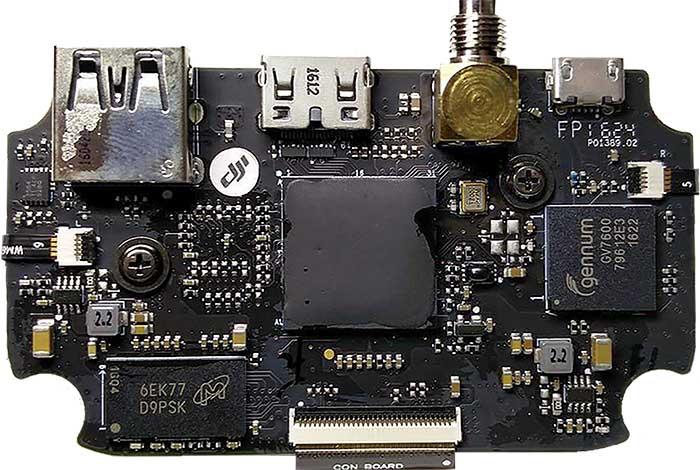 GL300 Connectors HDMI with SDI board v2 B top