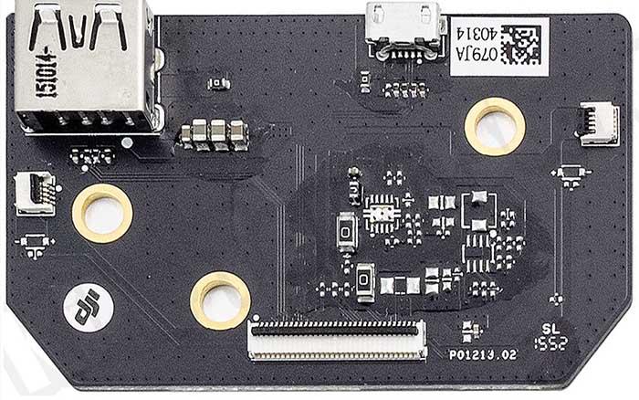 GL300 Connectors usb board v2 top