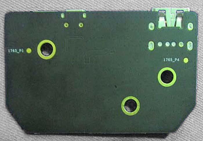 GL300 Connectors usb board v1 bottom