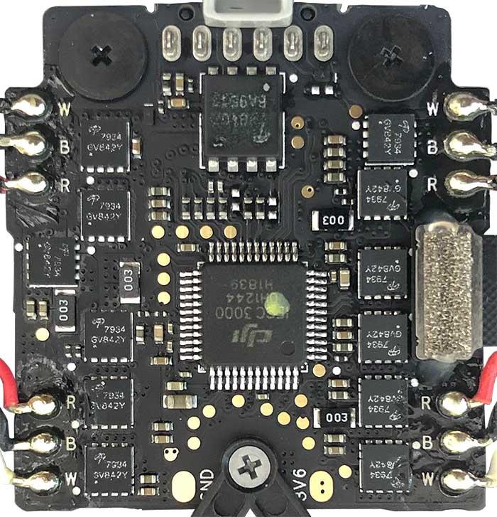WM160 ESC and Power board v1 A top