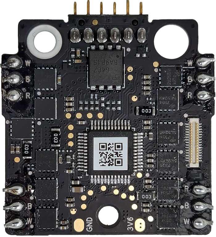 WM160 ESC and Power board v2 A top