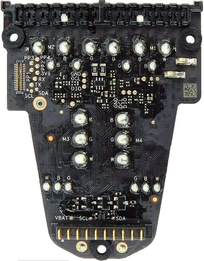 WM231 ESC and Power board v4 A bottom