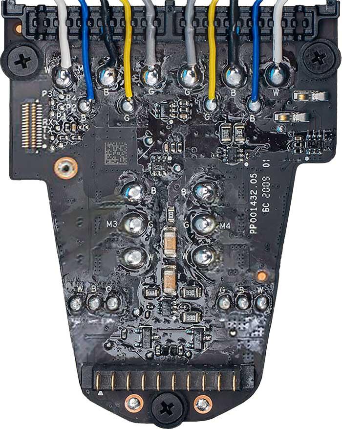 WM231 ESC and Power board v5 A bottom