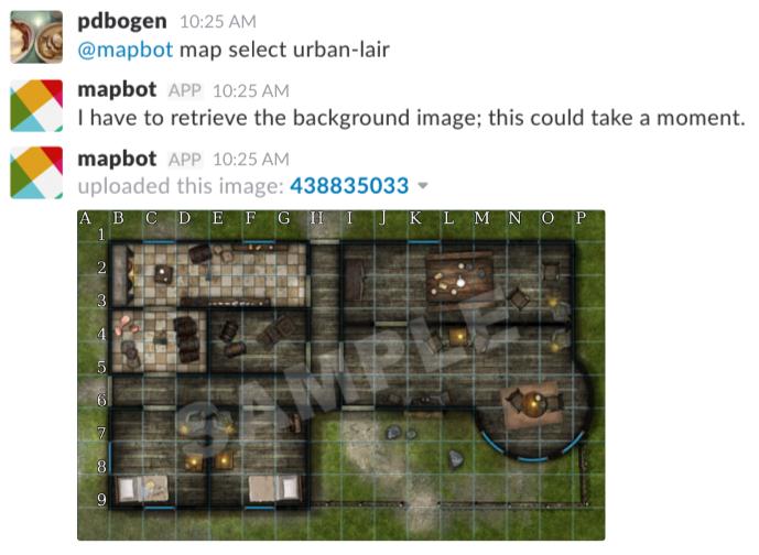 Map Select Screenshot