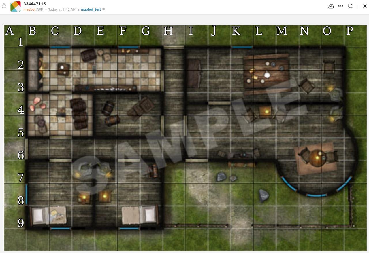 Map 125 DPI Screenshot